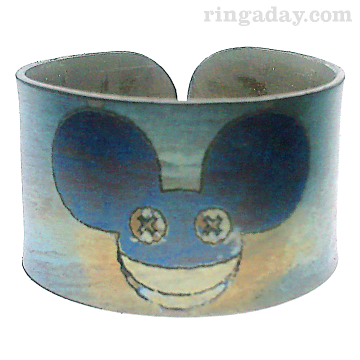DeadMau5 Titanium Ring